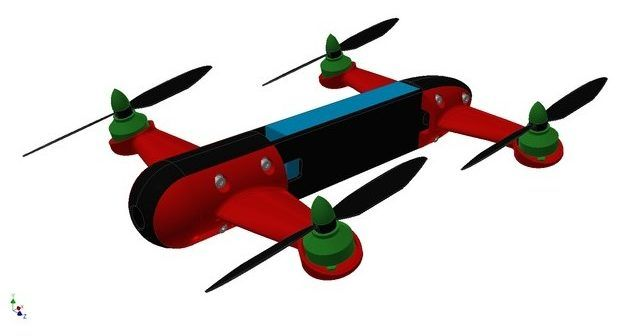 drone-stampato-in-3d-thinginverse