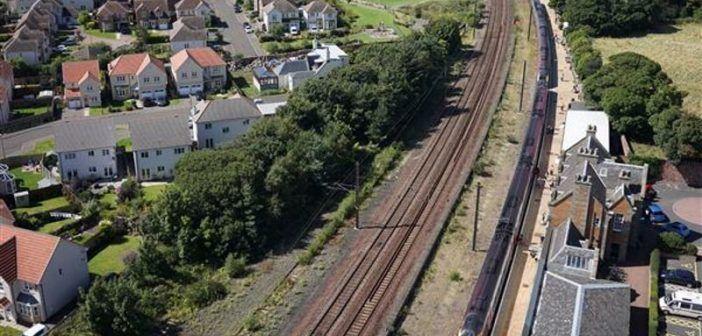 Cyberhawk ispezione stazione ferroviaria rugby