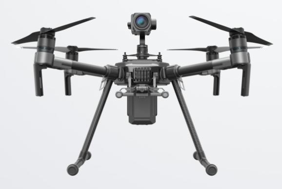 Matrice 2000, il drone per impieghi professionali al Mobile World Congress