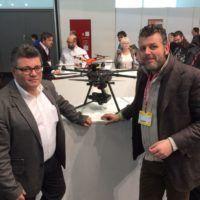 Franco Iannella di Yuneec Italia con Luigi Contin (iDroni)