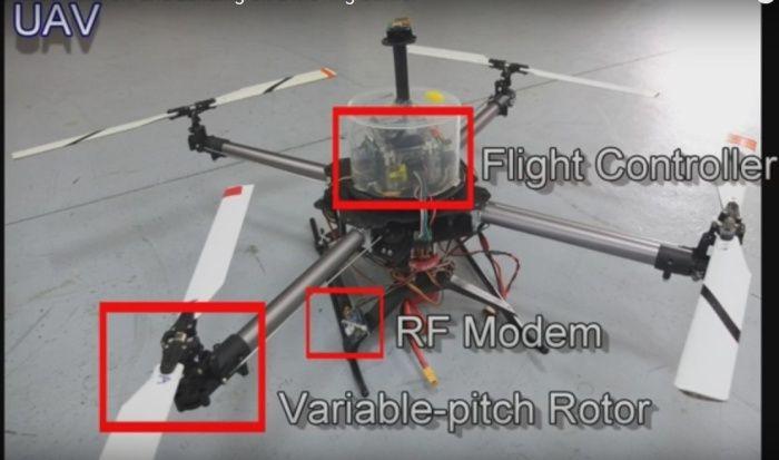 drone-quadricottero-passo-variabile-atterra-su-veicoli-in-movimento