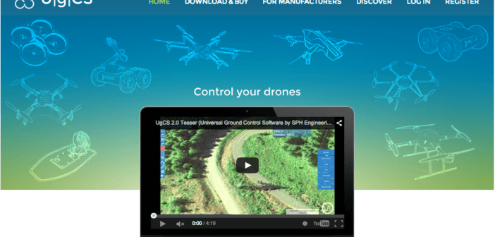 ugcs-site-screenshot