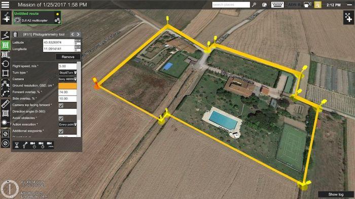 UGCS-pianificare-volo-drone-per-aerofotogrammetria