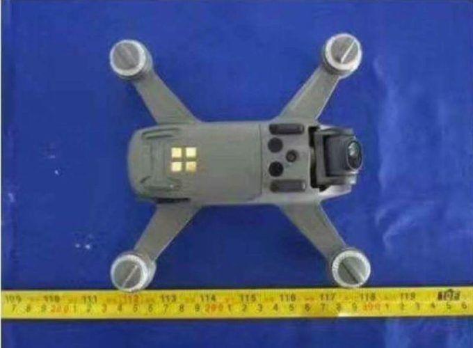 dji spark sensori ottici verticali