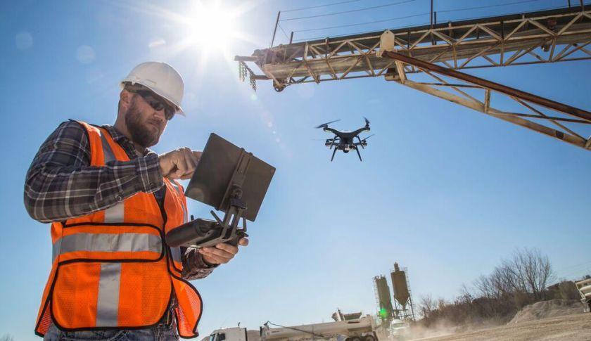 Risultati immagini per drone edilizia