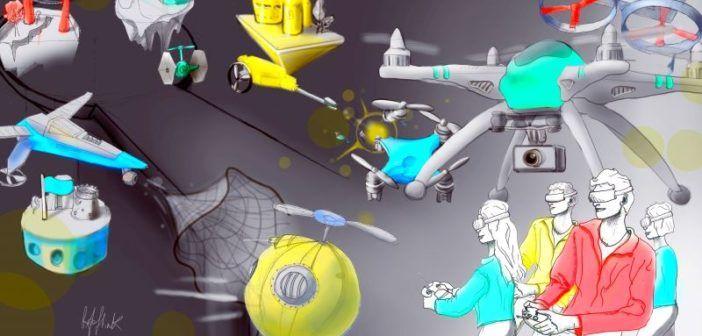 drone clash combattimenti tra droni