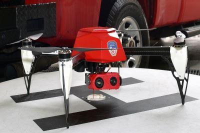 drone vigili del fuoco new york