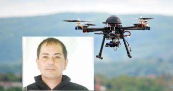 droni caccia evaso frosinone