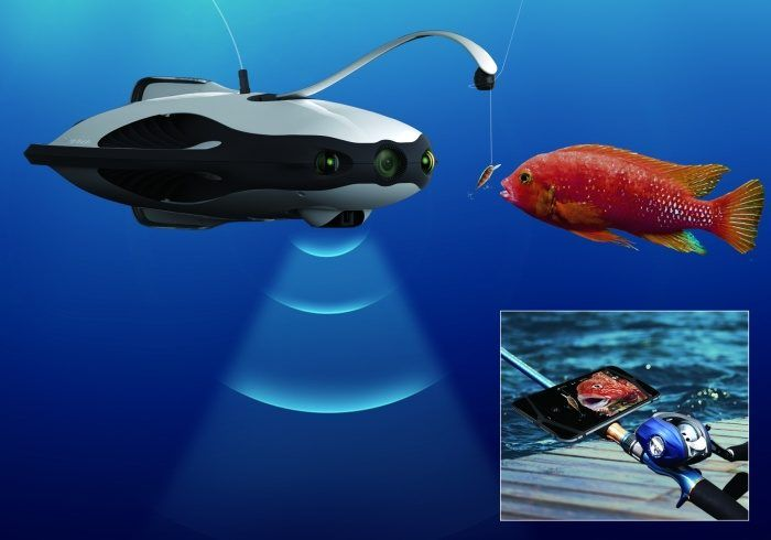 PowerRay-drone-fishing