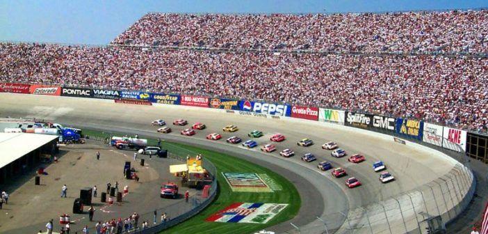 nascar racing e drone racing