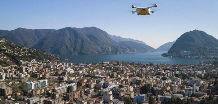 svizzera consegna via drone ospedali