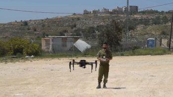 Un DJI Matrice usato da un soldato israeliano