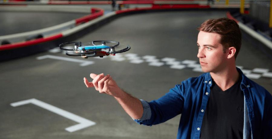 DJI Spark, minidrone per i selfie