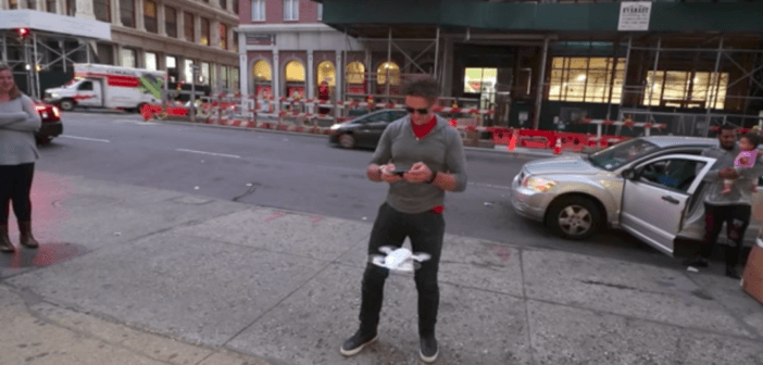 Casey Neistat nei guai  per i suoi video con il drone a New York