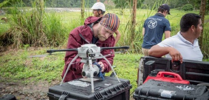 aeryon-scout-mappingg 3d colombia soccorso