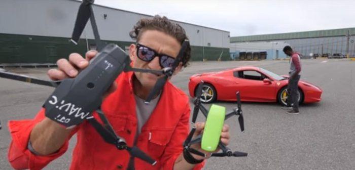 Drone DJI Spark vs drone DJI Mavic, la prima recensione americana