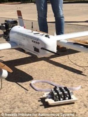drone texas nuovo recordo di consegna