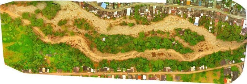 pix4D mappatura disastro colombia