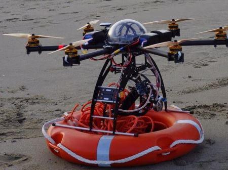 drone bagnino litorale laziale