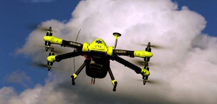 droni muniti di defibrillatore
