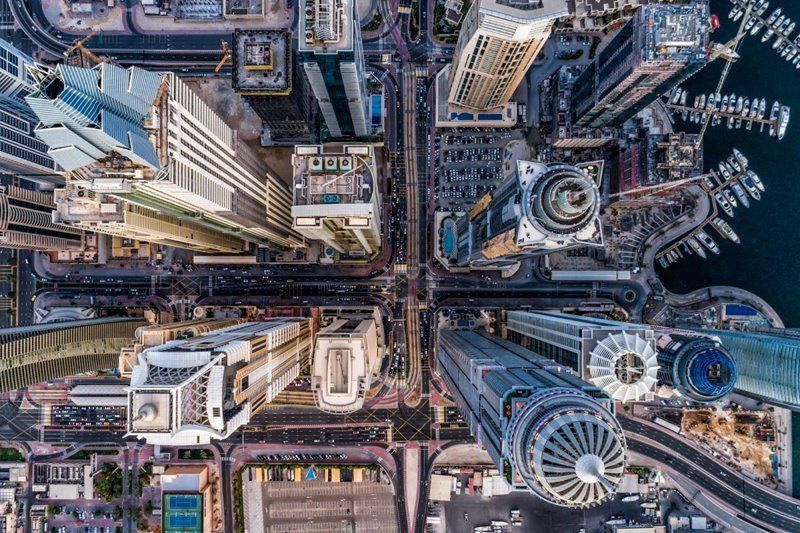 Concrete Jungle - foto International Drone Photography Contest