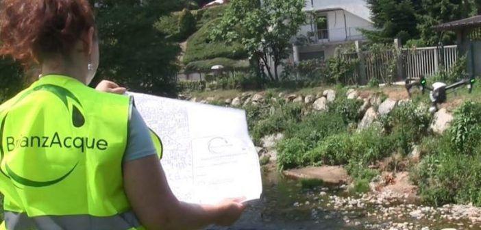 droni monitorare scarichi inquinanti fiume seveso e certesa