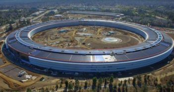 Apple Park, il video del drone mostra lo  stato di avanzamento lavori