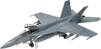 Un Super Hornet come quello coinvolto nell'incidente nel Golfo Persico