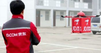 jd consegne via drone in cina