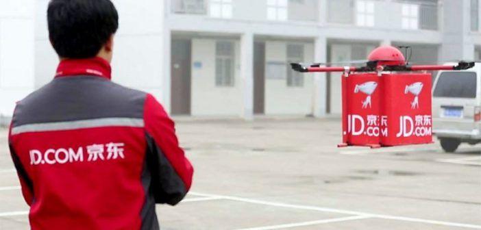Consegne via drone: in Cina si fa già sul serio