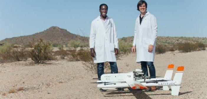 drone trasporto sangue arizona 161 miglia