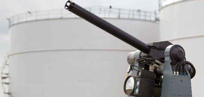 SkyWall 300, un cannoncino automatico per l'abbattimento sicuro dei droni