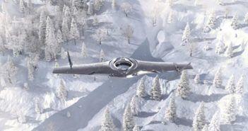 adaptable uavs drone ibrido multirotore ala fissa