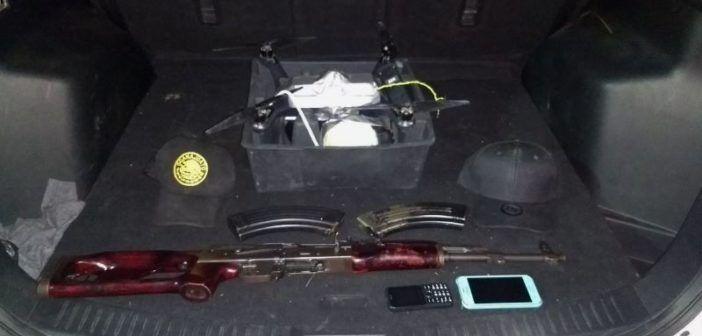 drone bomba usato dai narcos