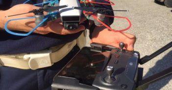 Drone leggero e inoffensivo per la Polizia Locale del Medio Verbano