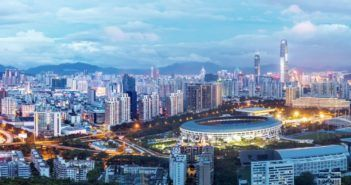 città cinese di shenzhen