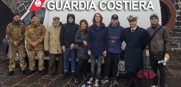 Napoli: Capitaneria sperimenta i droni con gli studenti