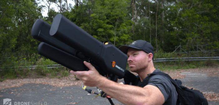 dronegun fucile antidroni