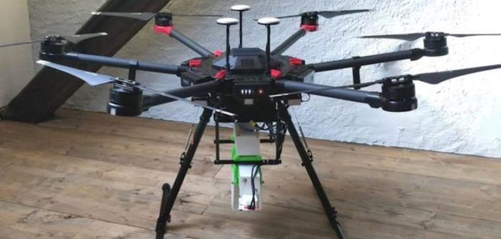 droni per combattere le zanzare
