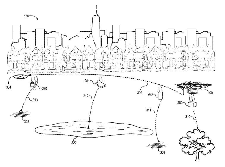 brevetto amazon autodistruzione dei droni