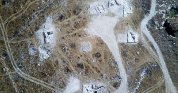 drone scopre resti di palazzo idumeo in israele