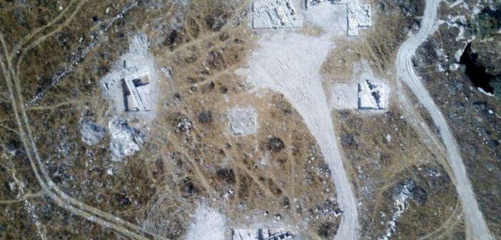 Droni per l'archeologia: scoperti resti di un palazzo antico nel deserto israeliano