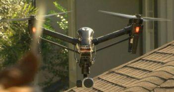 dimostrare che un drone ci spia