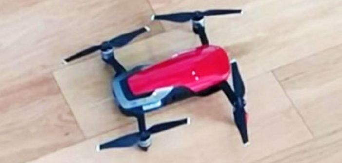 dji mavic air leak