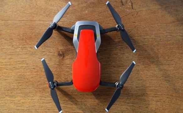 drone DJI Mavic Air usato nelle recensione