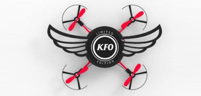 il drone di kfc che si costruisce a partire dalla scatola dei panini