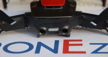 parte posteriore drone dji mavic air