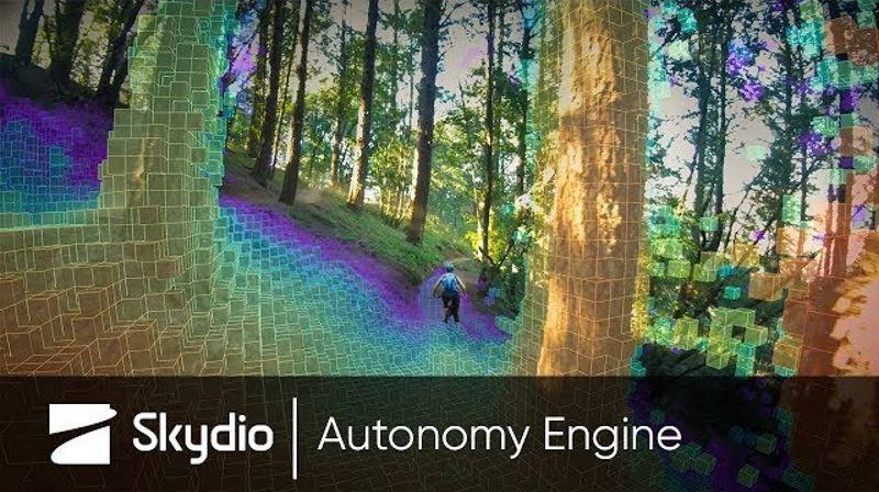 visione in pixel degli ostacoli ambientali, software del drone R1