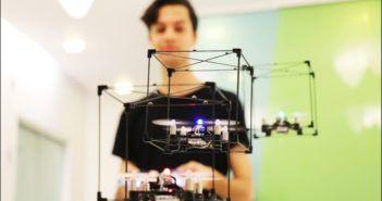 sciame di droni controller lego