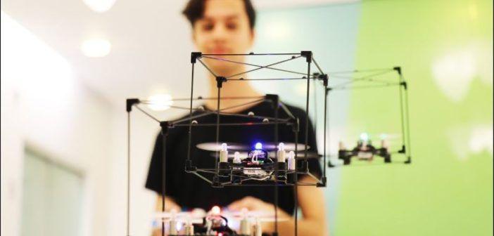 Pilotare uno sciame di droni? Basta un controller dei Lego!